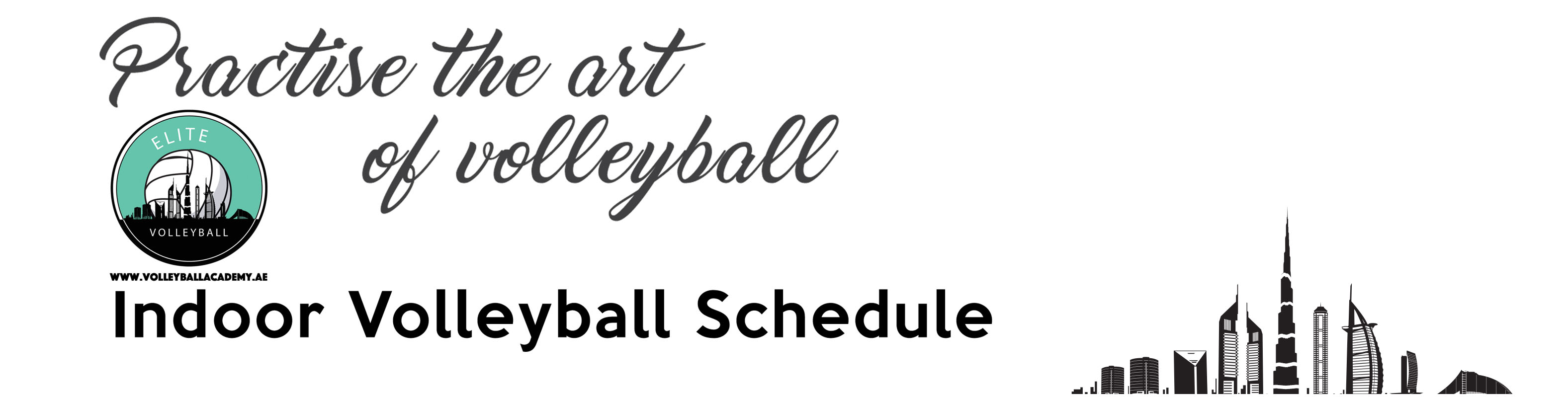 Schedule Volleyball Academy Dubai