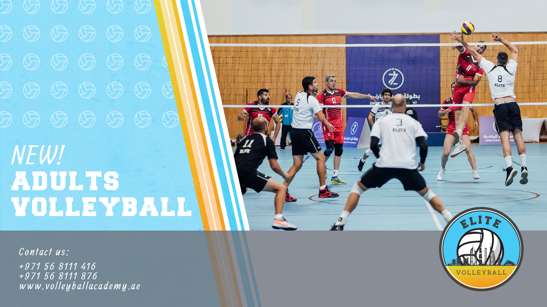 Adult Volleyball Volleyball Academy Dubai